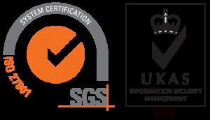 ISO 27001 & UKAS logo